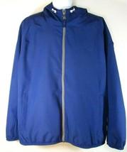 TIMBERLAND A1KTR-428 Men's Blue Hooded Windbreak Waterproof Jacket Sz 2XL - $75.59