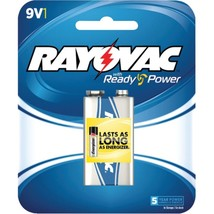 RAYOVAC A1604-1F Alkaline Batteries (9V; Single) - $20.58