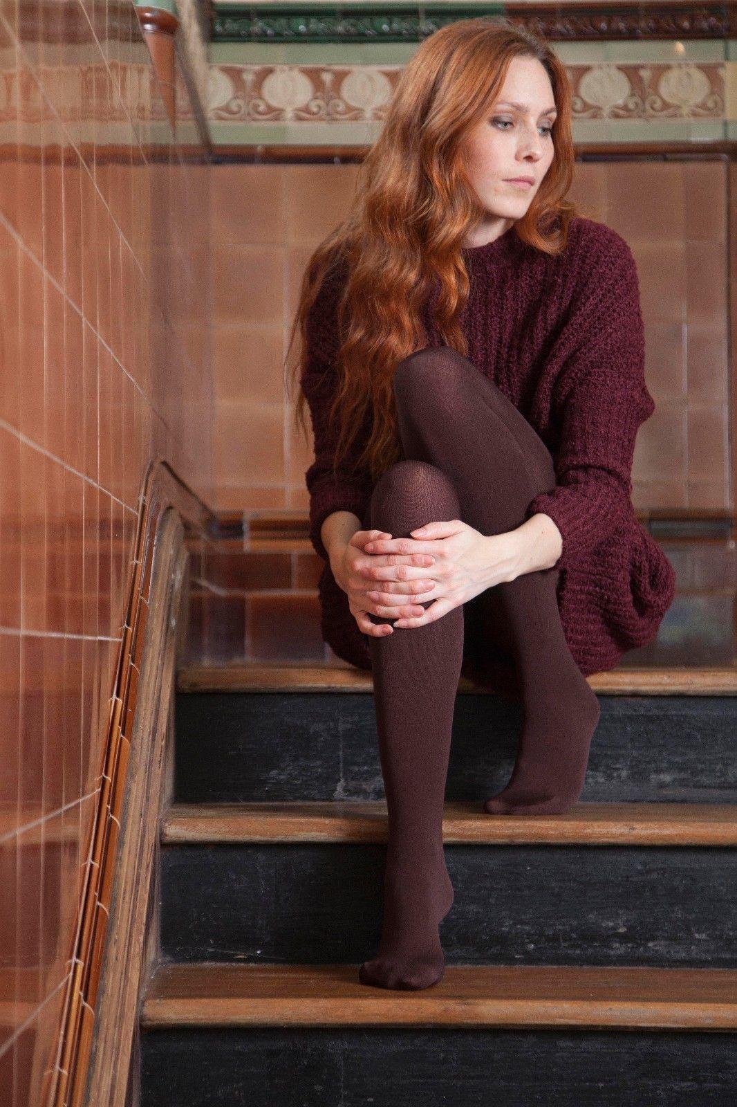 Heat Holders - Damen winter warm blickdicht bunt thermo strumpfhose in 4 farben