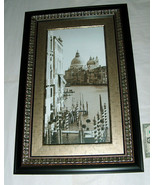 Z GALLERIE FRAMED 34.5 x 22.5 BRONZE GRAND CANAL VENICE ART PRINT BY BOY... - $148.48
