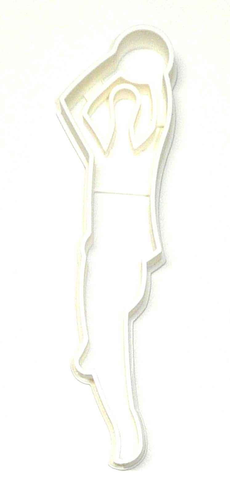 Primary image for Basketball Player Shooting Ball Jump Shot Athletics Cookie Cutter USA PR2415