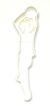 Basketball Player Shooting Ball Jump Shot Athletics Cookie Cutter USA PR2415 - $2.99