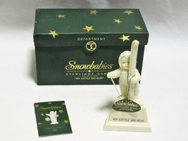 Dept 56 Snowbabies Starlight Series My Little Ski Bum - You Can Personal... - $14.99