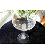 Set of 2 Princess House Heritage Bordeaux Clear Champagne Glasses - $14.85
