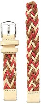 Fossil 14mm braided Leather Watch Strap - $14.99 CAD