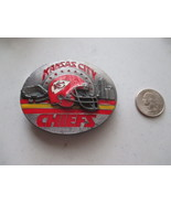 Kansas City Chiefs Team NFL Belt Buckle 1993 Edition - $10.00