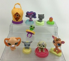 Littlest Pet Shop 9pc Lot Pets Accessories Toys LPS McDonalds Happy Meal... - $14.80