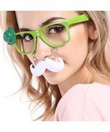 Plastic Mustache Glasses Irish Festival Party Decoration Saint Patricks Day - $9.49