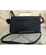 BOTTEGA VENETA Italy Slate Blue Shoulder/Cross Body / Belt Bag $890 - $444.41