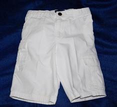 Polo Ralph Lauren 1967 Boys Adjustable Waist White Cargo Shorts Size: 7