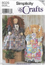 "Simplicity Crafts Pattern #8026-Sharin A Little Bit-36"" Doll & Clothes - $4.95"