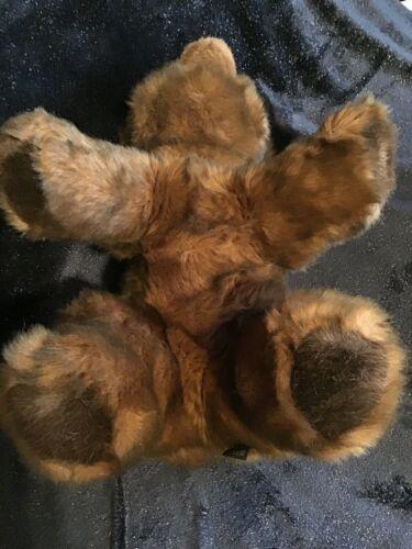 "Gund Collectors Classic Teddy Bear Vintage 1987 Large 20"" Brown Walking Sitting image 5"
