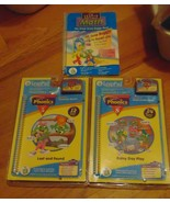 Leap Frog Phonics #5 & #8 & Math &Machine To Play Them Cover For Battery... - $5.43