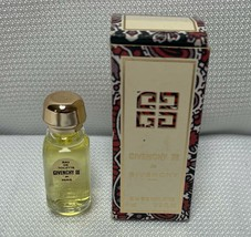 Vintage Givenchy III By Givenchy Travel Size Eau De Toilette Mini 1/8th ... - $26.99