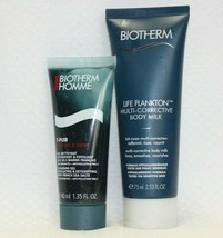 Biotherm Bundle! Life Plankton Multi Corrective Body Milk & T-Pur Clean... - $22.27