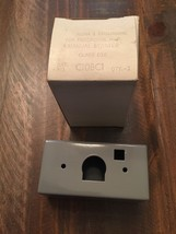 NEW IN BOX TELEMECANIQUE ENCLOSURE FOR HP FRACTIONAL MANUAL STARTER C10BC1 - $6.90