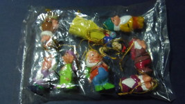 Disney Vintage Snow White And The Seven Dwarfs Christmas Ornament Set - $23.99