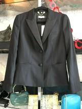TORY BURCH  Black Button Front Style#41131587 Blazer/Jacket Sz 8 $450 - $178.10