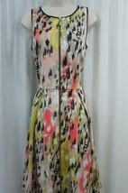 Jax Dress Sz 4 Pink Black Multi Color Sleeveless A Line Business Dinner ... - $49.44