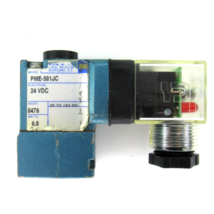 Mac Valves PME-501JC Pilota Valvola, 6 Watt, 24V Dc,25-150 Psi - $25.73