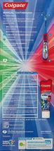 Colgate Kids PJ MASKS Gift Set Two Manual Toothbrushes fluoride Toothpaste 4.6OZ image 3