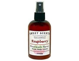 Raspberry Body Spray - Handmade Spray / Body Spray / Room Spray / Body Mist / Fr - $8.49