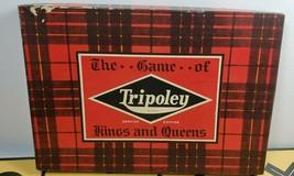 1943 Cadaco-Ellis Vintage Board Game Tripoley Service Edition Kings and Queens - $14.84