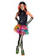 Complete Monster High Skelita Calaveras Costume and Wig Dress Up Cosplay... - $21.77