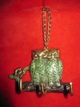 Metal Twin Owl's Key Ring  Wall Holder - $8.56