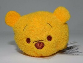 Disney Collection Tsum Tsums Plush Winnie Pooh Bear Stackable Hundred Ac... - $6.00