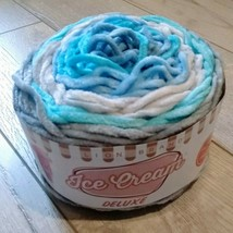 Lion Brand Ice Cream Deluxe Yarn ~ Newport ~ New ~ Free Shipping - $13.99