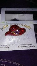 RED HAT SOCIETY BROOCH / PIN  image 2
