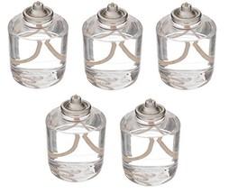 D'light Online HD50-36 Clear 50 Hour Liquid Wax Disposable Clear Plastic... - $68.02