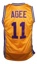 Arthur Agee Hoop Dreams Movie Basketball Jersey New Sewn Yellow Any Size image 2