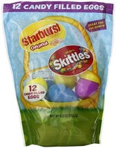 Skittles and Starburst Candy Filled Egg, 12 Count - $9.99