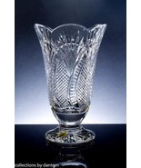 """Waterford Crystal First Edition Seahorse Vase, 10"""", Classic Collection - $389.00"""