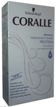 Schwarzkopf Coralle Permanent Wave Curl Curly Perm Cream Normal Resistant Hair - $17.81