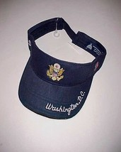 Washington D.C. White House USA Seal Adult Unisex Navy Blue Visor One Si... - $24.74