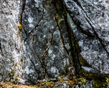 Rock Crag Crevice Mountain Face Ledge Crack Wall Digital Art Image Photograph