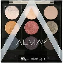 Almay Palette Pops Eyeshadow #020 Fabulista .16 oz 2 Pack New! - $9.89