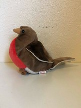 """Beanie Baby Early the Robin Bird 5"""" PE Pellets TY 1997 Missing Swing Tag - $4.55"""