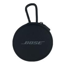 Original Bose Earbud Case, Zipper, Round, Carrying Carabiner Clip EX Con... - $7.11