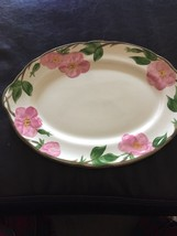 Vintage Franciscan Desert Rose Serving Platter 14X10  MADE IN  England* - $24.70