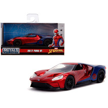 2017 Ford GT Spider-Man Theme Marvel Series 1/32 Diecast Model Car by Ja... - $18.53