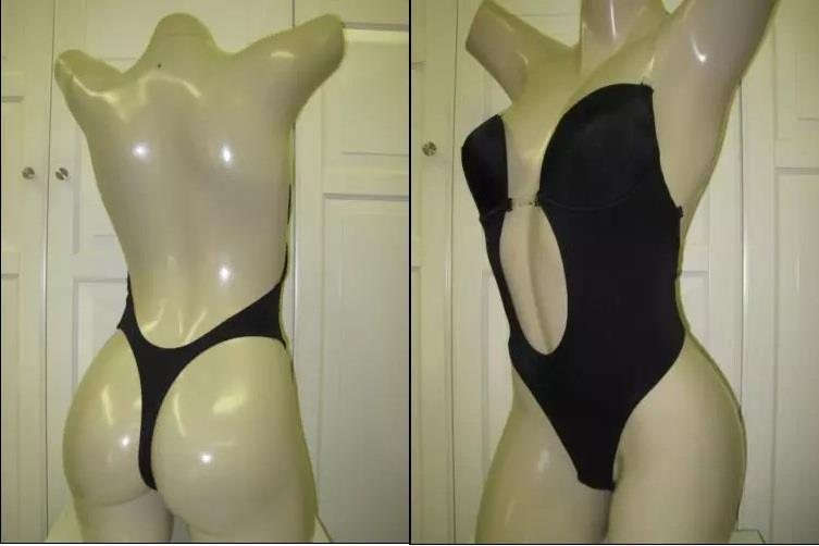 bdb7900d54dcd S l1600. S l1600. Previous. Backless Bra Full Body Shaper Thong Convertible  Seamless Low Back Max Cleavage