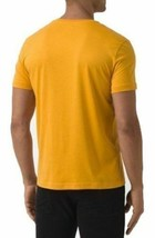 Lacoste Men's Premium  Athletic Cotton V-Neck Shirt T-Shirt Curcuma image 2