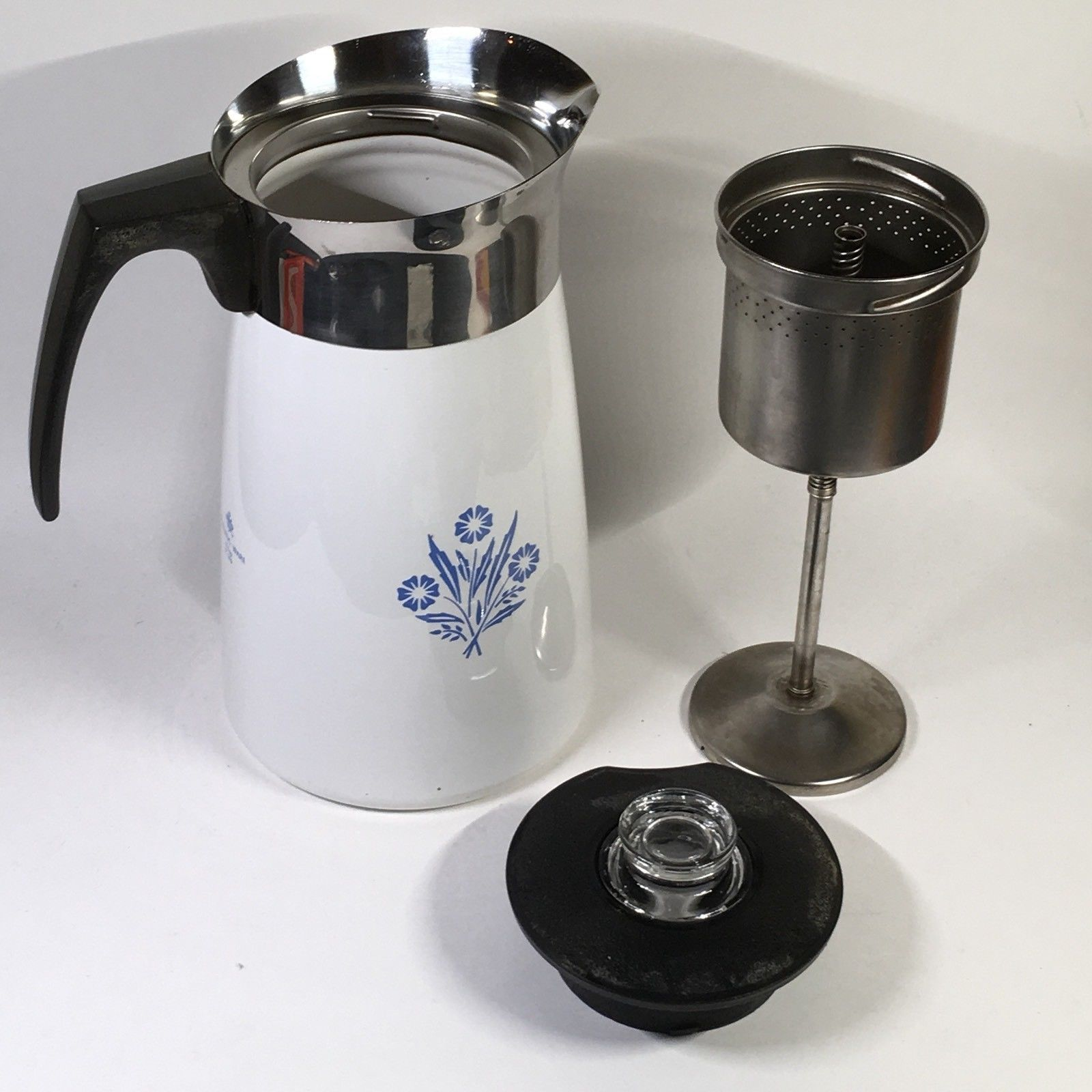 Corning Ware 9 Cup Coffee Pot Percolator And 50 Similar Items
