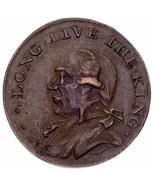 1795 Großbritannien 1/2 Penny Token cm Lang Live die König Zoll XF Zustand - £39.81 GBP