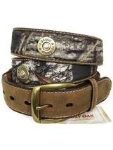 NOCONA Mossy Oak Shotgun Shell Men's Belt N24998222 size 42 - $34.64