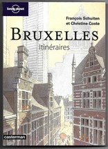 Bruxelles Itineraires (Brussels Pathways) French Travel Guide Book Schui... - $22.95